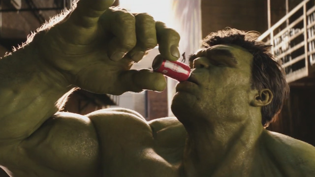 Coca Cola - Hulk vs Ant Man