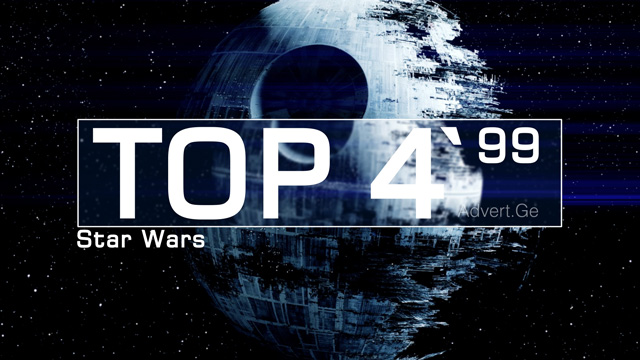 TOP 5 of STAR WARS in Commercials