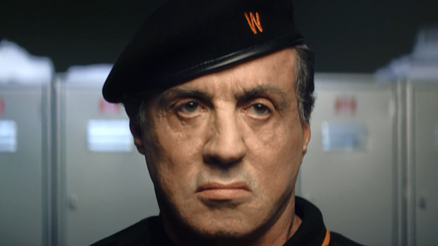 Warburtons - The Deliverers - Sylvester Stallone